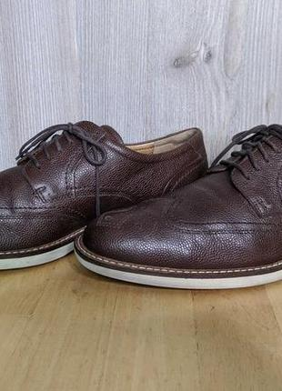 Туфли кожаные ecco !