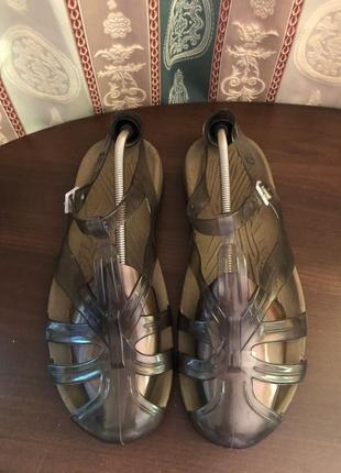 Мужские летние силиконовые сандалии. пр-во италия