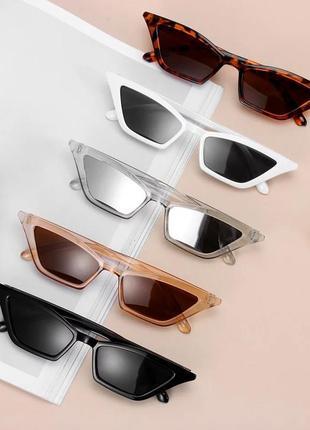 Солнцезащитные очки базовые очки трендовые очки кошачьи очки