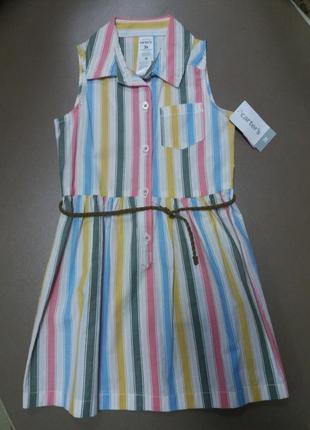 Carter's плаття рубашка із сша на дівчинку на 3 роки