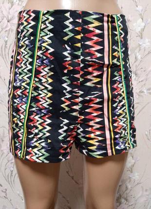 Разноцветные летние шорты с высокой талией river island
