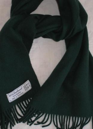Boss hugo boss. шарф из овечьей шерсти. мужской зимний шарф.