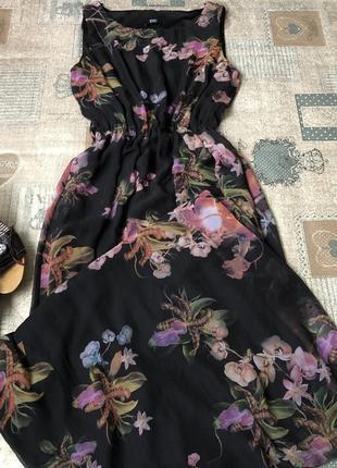 Плаття#максі#квітковий принт