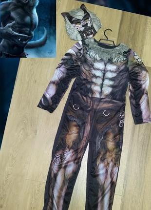 Новый костюм оборотень оборотня на 9-10 лет