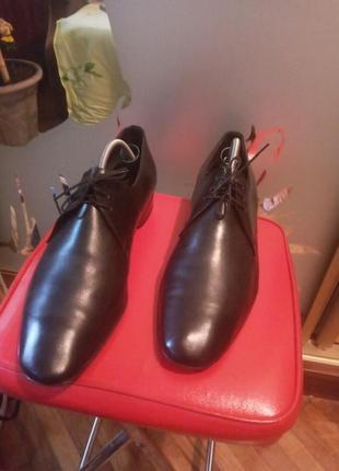 Кожаные туфли made in italy