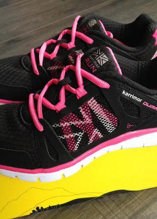 Кроссовки беговые, для фитнеса и ходьбы karrimor новые размер 38 стелька 25 см