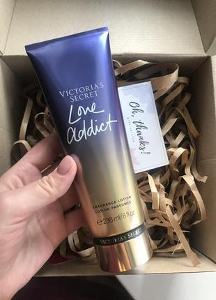 Лосьон для тела от victoria's secret love addict