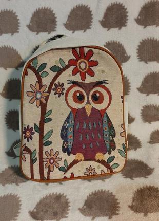 Милый рюкзачок с совой