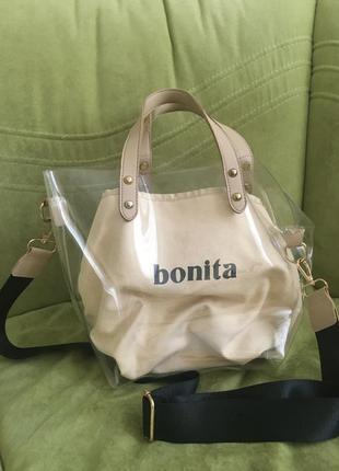 Трендовая сумка -пакет