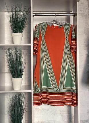 Платье английского бренда yumi с карманами / этно арнамент