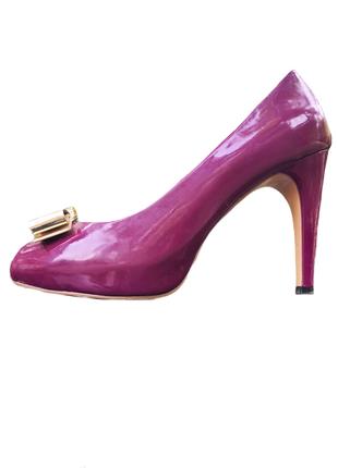 Туфли кожанные женские salvatore ferragamo