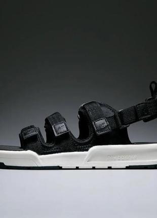 Сандали женские new balance, черные (нью баланс, босоножки, сандалі, летняя обувь, сабо)