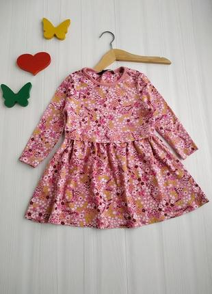 1-1,5 года платье трикотажное george