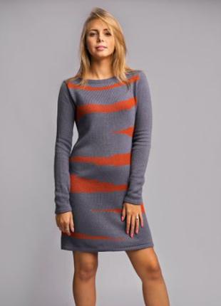 Изумительный комплект платье+шарф от тм trikobakh