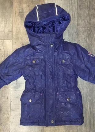 Фирменная теплая куртка kiki&koko