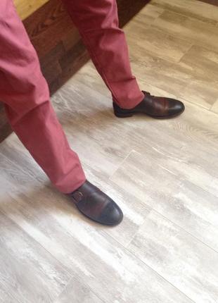 Классические мужские туфли robert wayne montana