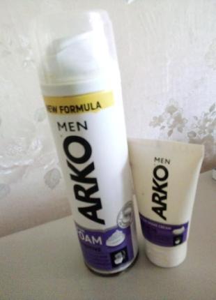 Крем для/после бритья