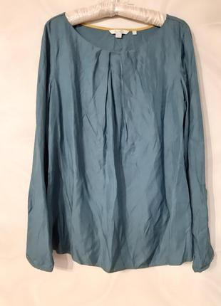 Блуза натуральный шелк вискоза дорогой бренд