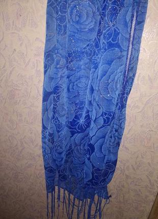 Красивый шарф платок  торг