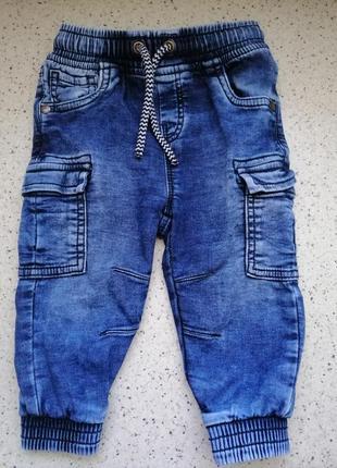 Стильные джинсы джоггеры next