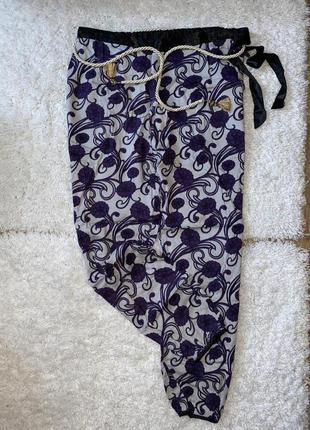 Шикарные легкие пижамные штанишки бренд femilet размер 40/14