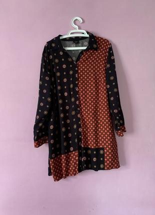 Рубашка блуза стильная большой размер вискоза