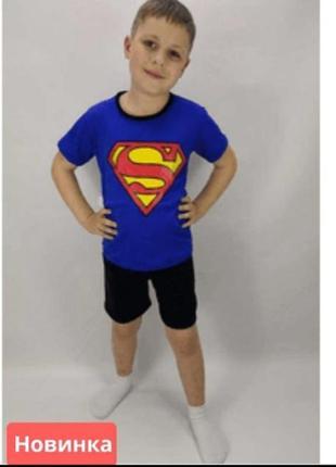 """Костюм """"футболка і шорти"""" superman"""