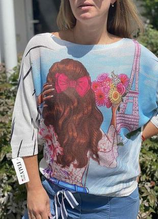 Шикарный нарядный свитерок кофточка италия