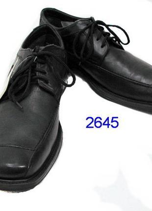 Claudic conti туфли мужские кожаные