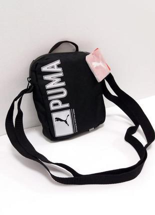 Оригинальная мужская сумка - месенджер через плечо puma