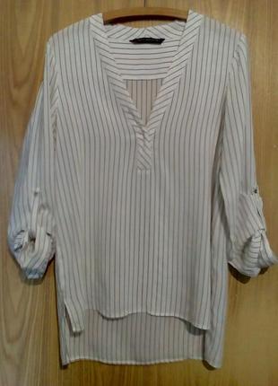 Стильная удлиненная летняя рубашка