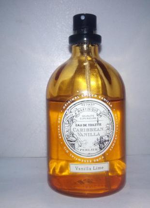 Perlier caribbean vanilla vanilla lime 5 мл пробник унисекс