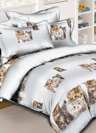 Комплект постельного белья r-c18 котята