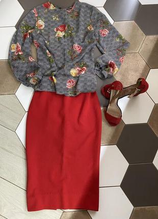 Юбка та блуза