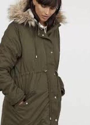Куртка парка для беременных h&m