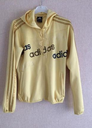 Фирменная олимпийка,кофта adidas оригинал