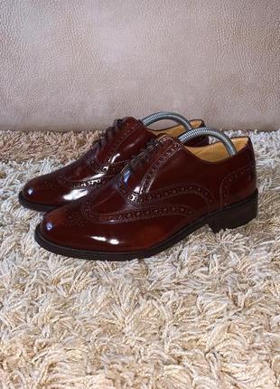Туфли броги db shoes england кожаные оригинал