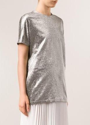Блуза-футболка с напылением