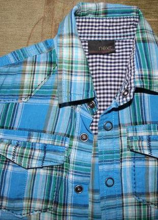 Льняная рубашечка next