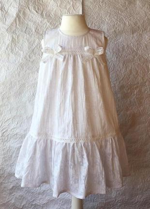 Очень легкое батистовое платье р.98
