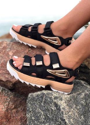 🤩 женские сандалии fila