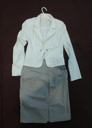 Летний легкий женский пиджак из натуральной ткани