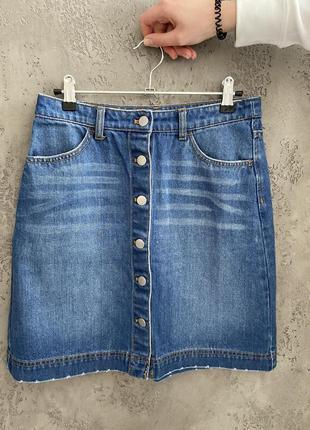 Супер актуальная джинсовая юбка h&m
