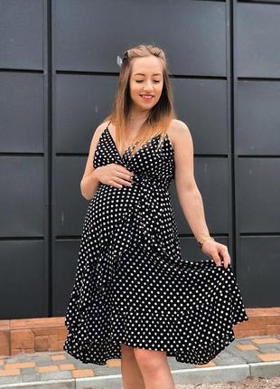 Платье на запах летнее для беременных