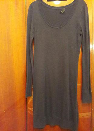 Платье миди от h&m (s)