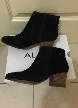 Весенние замшевые ботинки aldo