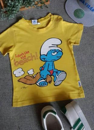 """Дитяча футболка """"смурфік"""" 🎁 1+1=3"""