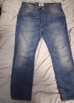 Джинсы мужские светло-синие  levis 501