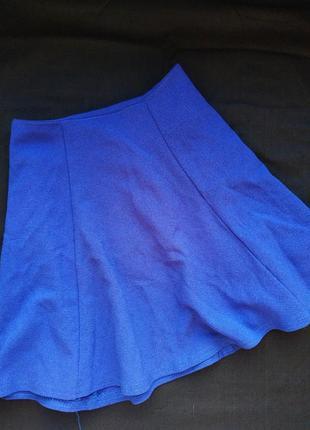Sale синяя юбка солнце электрик
