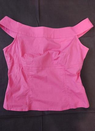 Стрейчевая блузка из натуральной ткани